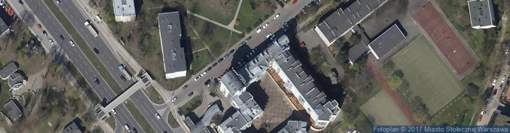 Zdjęcie satelitarne Agencja Ubezpieczeniowa J Plus Tlatlik Gierszewska Bożena