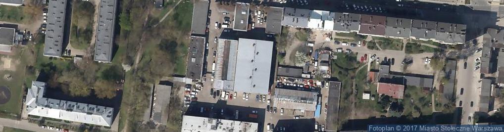 Zdjęcie satelitarne Agencja Usługowa Emilia Bors Małgorzata