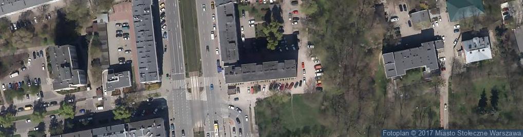 Zdjęcie satelitarne Agencja Usługowa Produkcyjna Handlowa Akapit