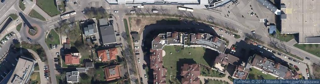 Zdjęcie satelitarne Agencja Usługowo Handlowa Corrida w Likwidacji