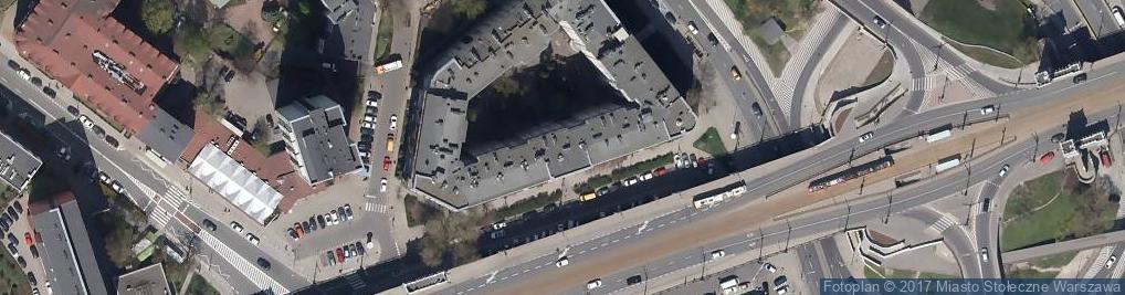 Zdjęcie satelitarne Akademos Centrum Oświatowe S.C.