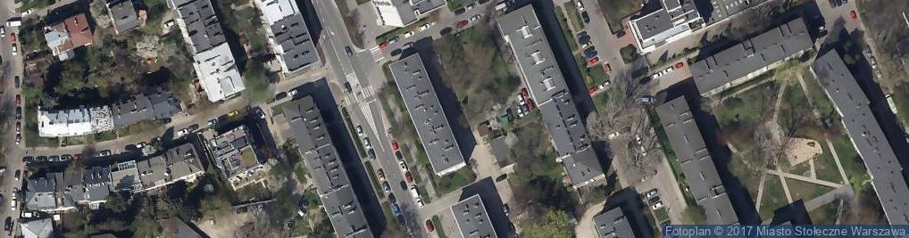 Zdjęcie satelitarne Akces Nieruchomości