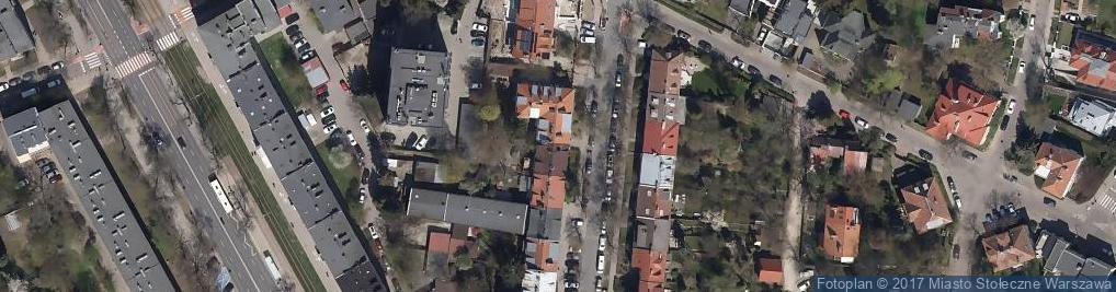 Zdjęcie satelitarne Alcabala