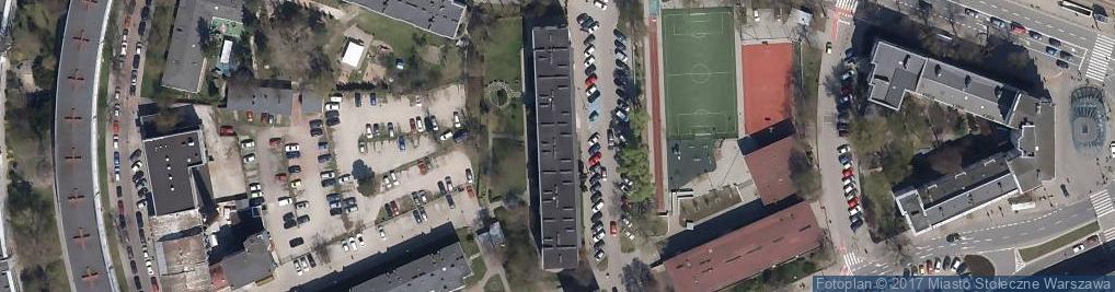 Zdjęcie satelitarne Alfa Language Studio