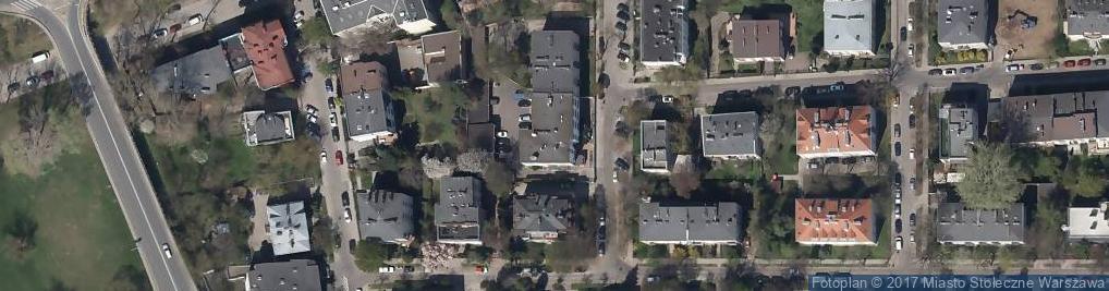 Zdjęcie satelitarne Ambasada Indonezji