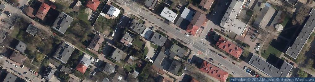 Zdjęcie satelitarne Anna Import Export Art Przem Produkcja Odzieży Kucharska Anna