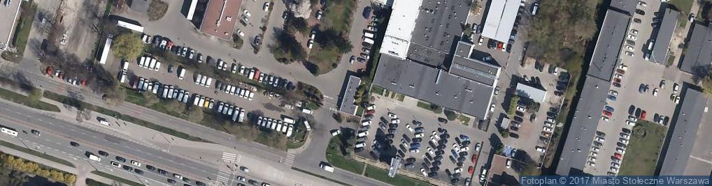 Zdjęcie satelitarne Antkowiak Dom Mody w Likwidacji