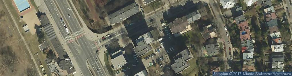 Zdjęcie satelitarne Artnet Rossmanith Cichoń Anna Cichoń Artur