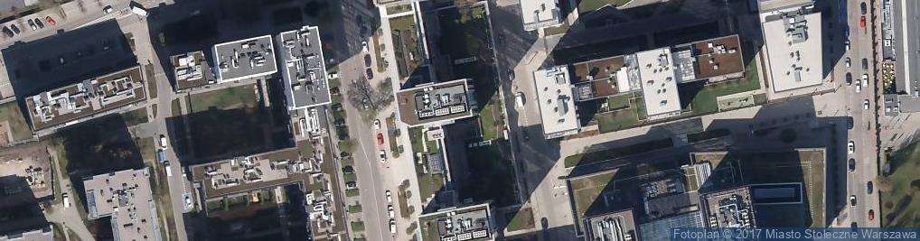Zdjęcie satelitarne Asbud Piaseczno