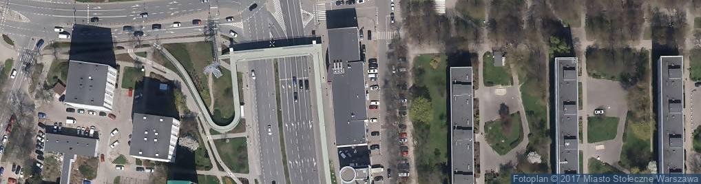 Zdjęcie satelitarne Auraeko Organizacja Odzysku Sprzętu Elektrycznego i Elektronicznego