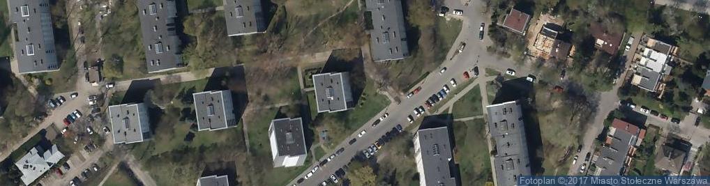 Zdjęcie satelitarne Bagażówka Warszawska