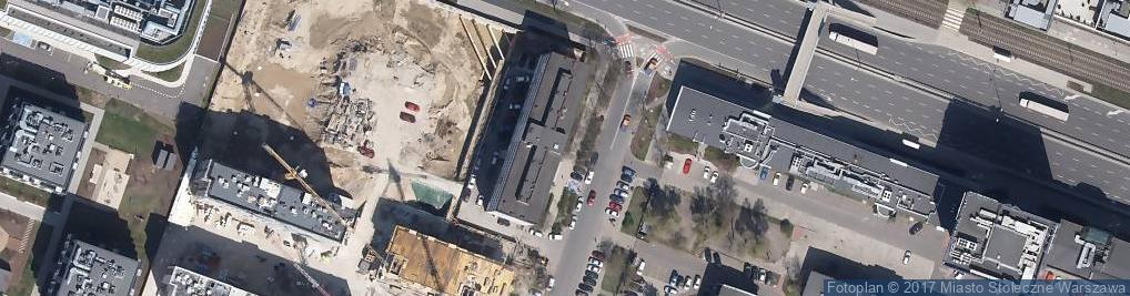 Zdjęcie satelitarne Bank Gospodarstwa Krajowego Oddział I