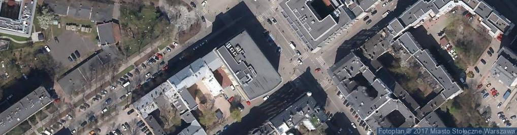 Zdjęcie satelitarne Bank Spółdzielczy w Otwocku Filia w Warszawie