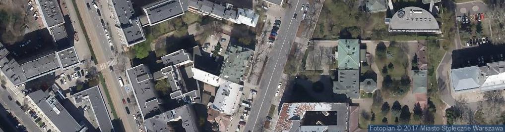 Zdjęcie satelitarne Bank Współpracy Europejskiej S.A.