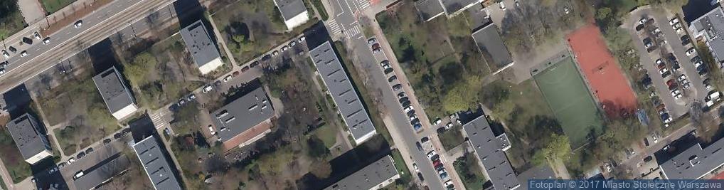 Zdjęcie satelitarne Biuro Obsługi Informatycznej