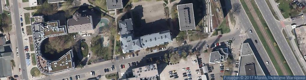 Zdjęcie satelitarne Biuro Podróży Asia City Center Sp. z o.o