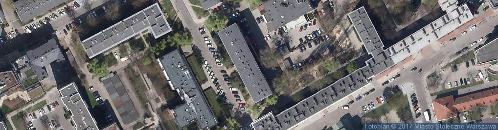 Zdjęcie satelitarne Biuro Projektów Budownictwa Ogólnego Budopol