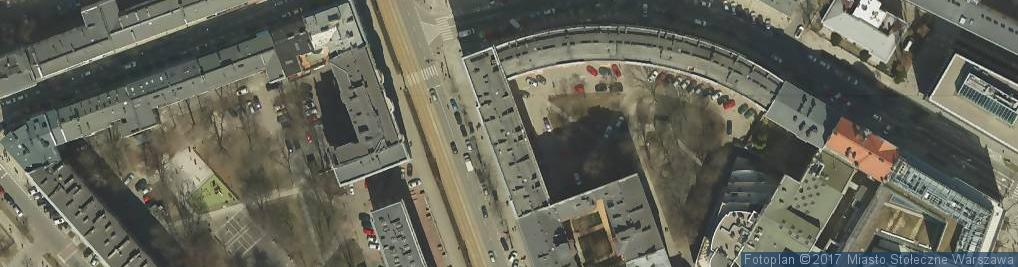 Zdjęcie satelitarne Biuro Projektowe U K M Nieformalna Galeria Studio Kominek Makaruk Urszula