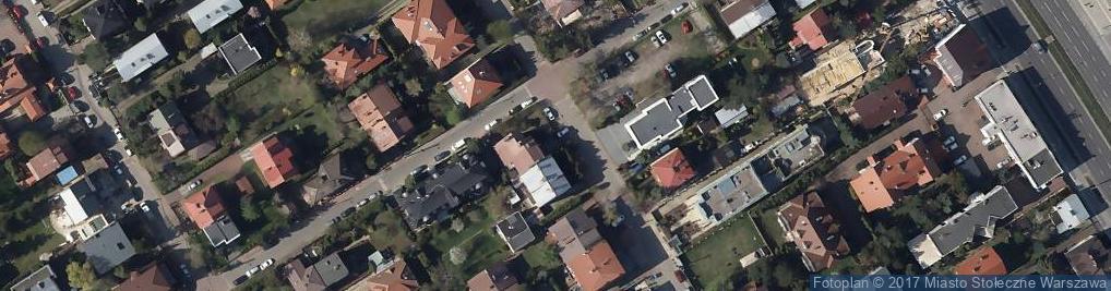 Zdjęcie satelitarne Biuro Studiów i Projektów Budowlanych MSW Sp. z o.o.