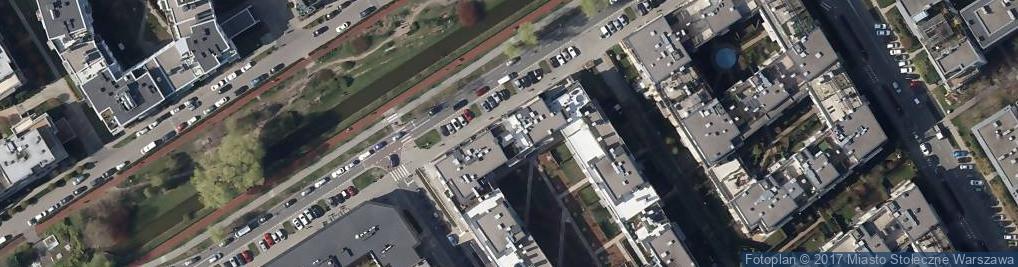 Zdjęcie satelitarne Biuro Usług Technicznych Sankom