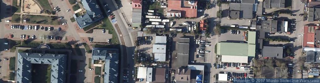 Zdjęcie satelitarne Blacharstwo Lakiernictwo Pojazdowe