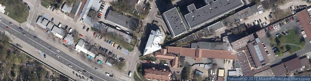 Zdjęcie satelitarne Branco
