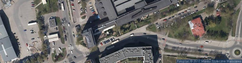 Zdjęcie satelitarne Branżowy Zakład Doświadczalny Budownictwa