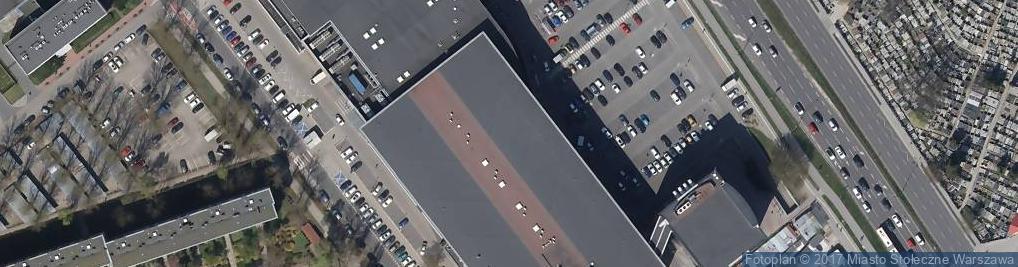 Zdjęcie satelitarne Carre Blanc