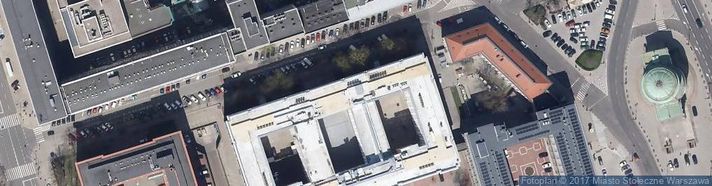 Zdjęcie satelitarne Centralny Ośrodek Dokumentacji Geodezyj