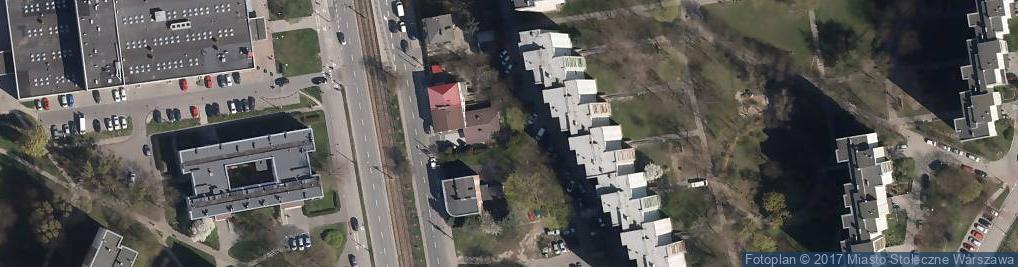 Zdjęcie satelitarne Centrum Niszczarek