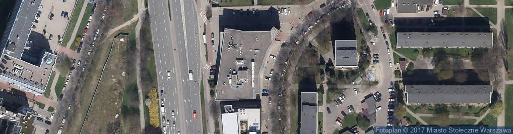 Zdjęcie satelitarne Cerberus Siemens Building Technologies Sp. z o.o.