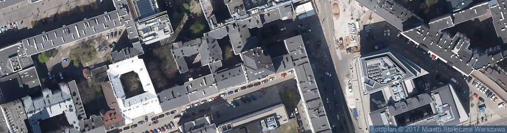 Zdjęcie satelitarne Cottyn Barbasiewicz i Łyś-Gorzkowska.