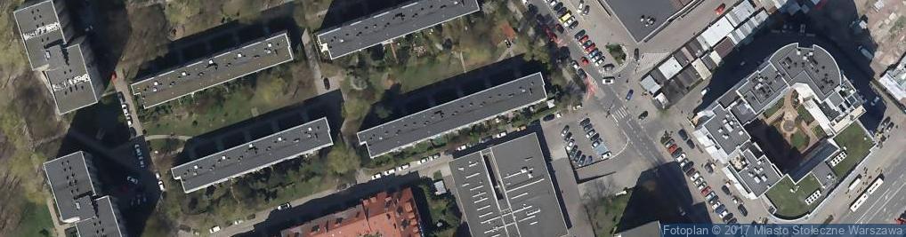 Zdjęcie satelitarne Cymes Handel Ogólny