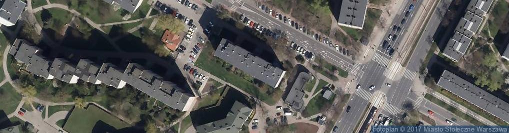 Zdjęcie satelitarne Dan Pol Import Export Towarów Spożywczo Przemysłowych