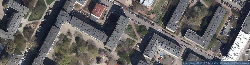 Zdjęcie satelitarne DBR Grzegorz Dudziński