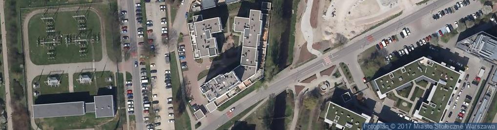 Zdjęcie satelitarne Degusto Paweł Małkowski , Świeżo Palona