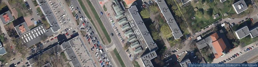 Zdjęcie satelitarne Dek Art Wolski Wojciech