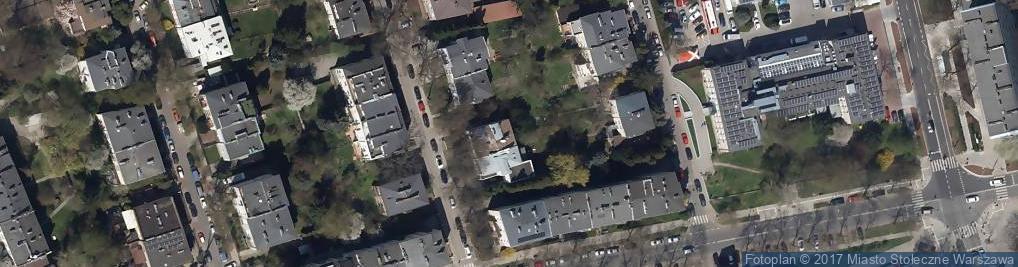 Zdjęcie satelitarne DekoProjekty.pl