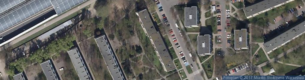 Zdjęcie satelitarne Delta Hurtowa Sprzedaż Art Przem Kraj i Zagr Trzaska K