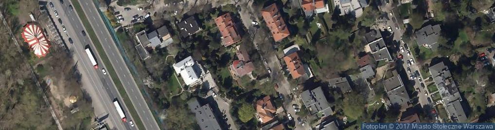 Zdjęcie satelitarne Dom i Domek