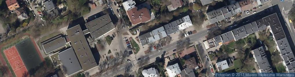 Zdjęcie satelitarne Domena Ciepły G Grądzki T Olejnik Widowska B Olejnik D Olejnok S