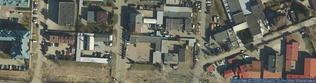 Zdjęcie satelitarne DRAFT Sp. z o.o. Serwis Opon DRIVER