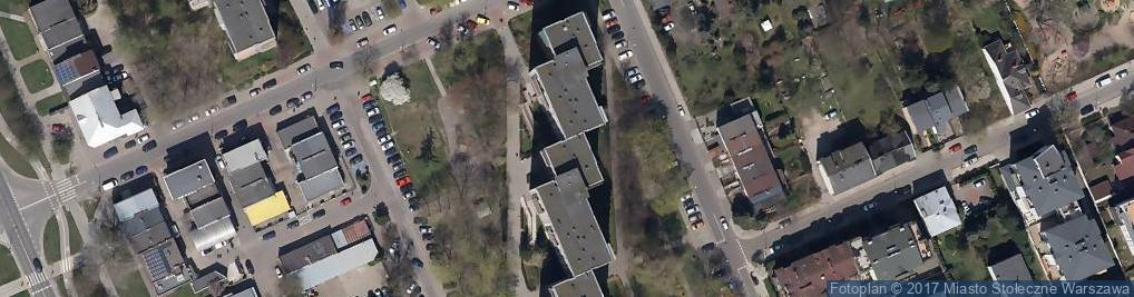 Zdjęcie satelitarne Droga