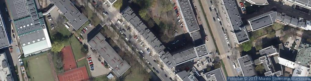 Zdjęcie satelitarne Dystrybucja Artykułów Konsumpcyjnych