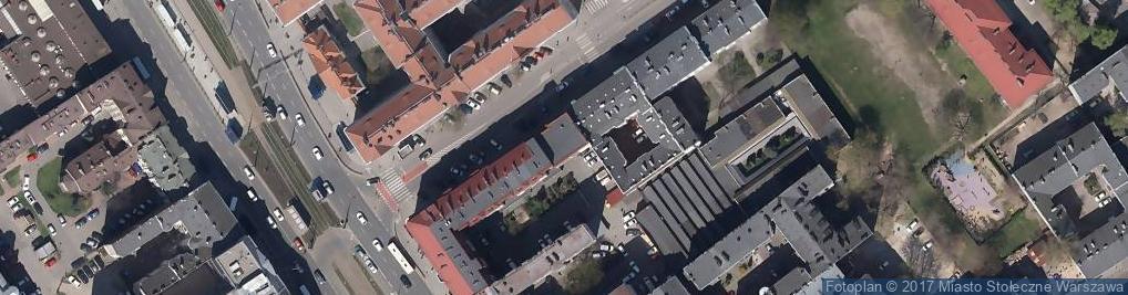 Zdjęcie satelitarne Edumed Centrum Doradztwa Medycznego i Edukacji
