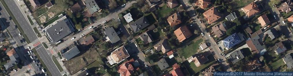 Zdjęcie satelitarne Efektura Piotr Bogucki Wanda Bogucka
