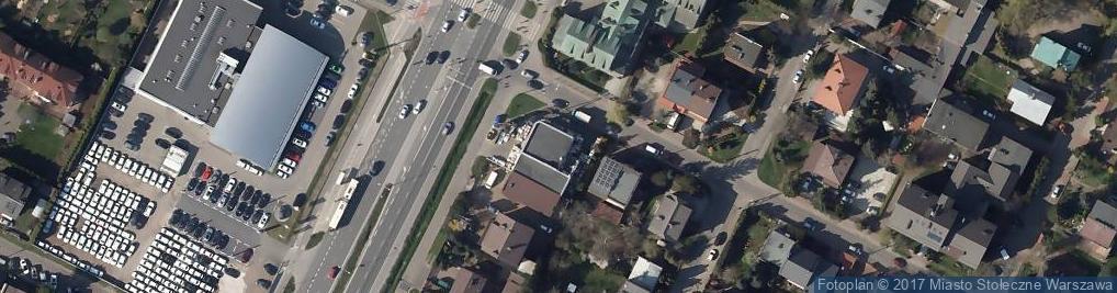 Zdjęcie satelitarne Eko Bud Spodniewski Jacek Gołębiowski Jerzy