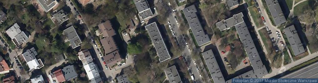 Zdjęcie satelitarne Eltom Hurt Export Import Gładykowska Budyta E