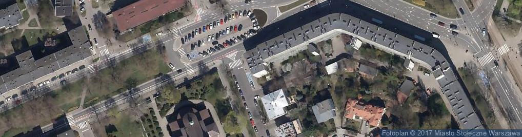 Zdjęcie satelitarne Essenis Szkolenia Marketingowe
