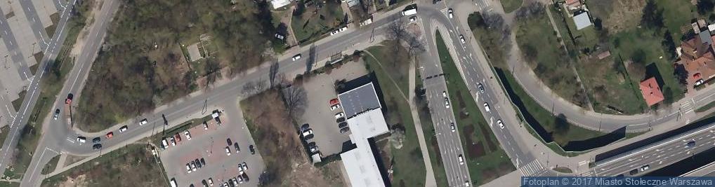 Zdjęcie satelitarne Faac Polska